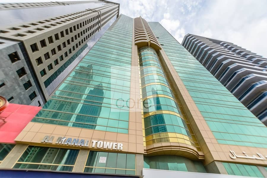 15 Fitted Office | High Floor | Close to Metro