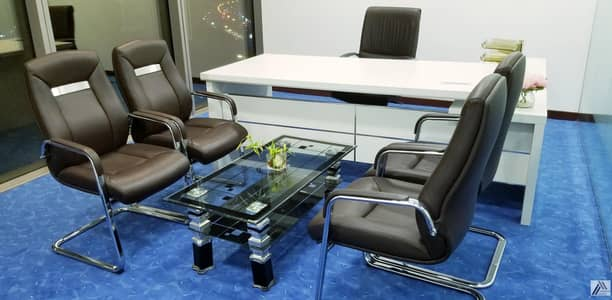 Office for Rent in Bur Dubai, Dubai - BRAND NEW CUSTOMIZED LUXURIOUS PRIVATE OFFICES AT BURJUMAN BUSINESS TOWER