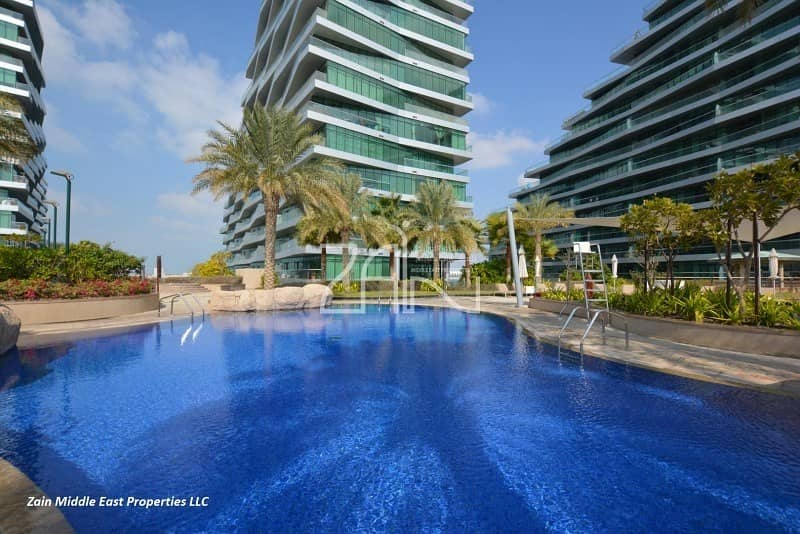 2 Sea View! Upgraded Penthouse Corner with Balcony