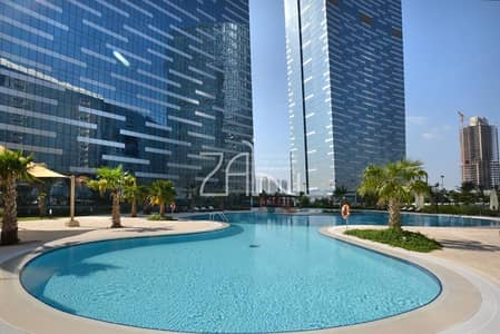 Sea View 1 BR Apt High Floor in 4 Payments