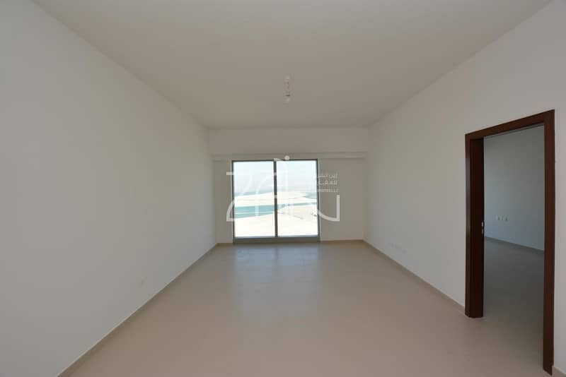 2 Sea View 1 BR Apt High Floor in 4 Payments