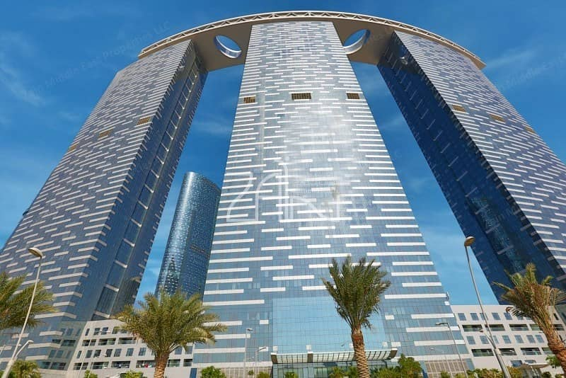 10 Sea View 1 BR Apt High Floor in 4 Payments