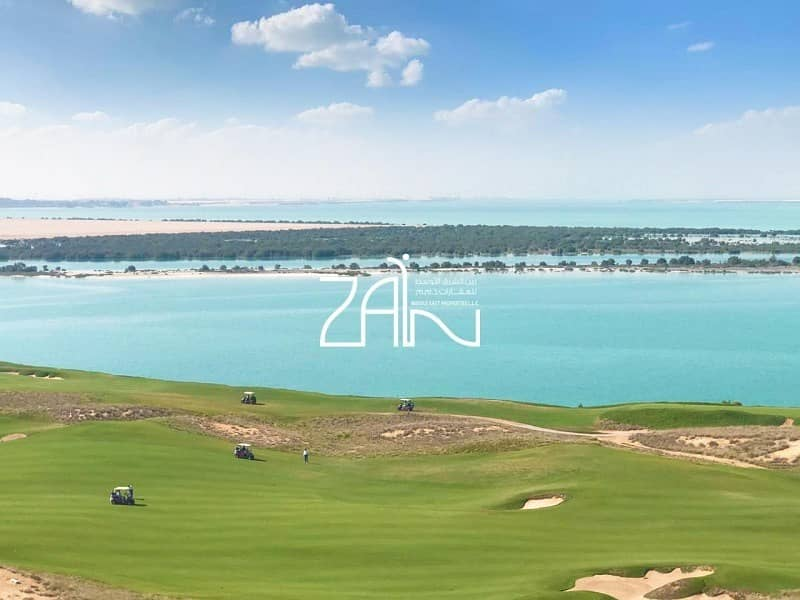 Golf & Sea View 2+M Apt Below Original Price