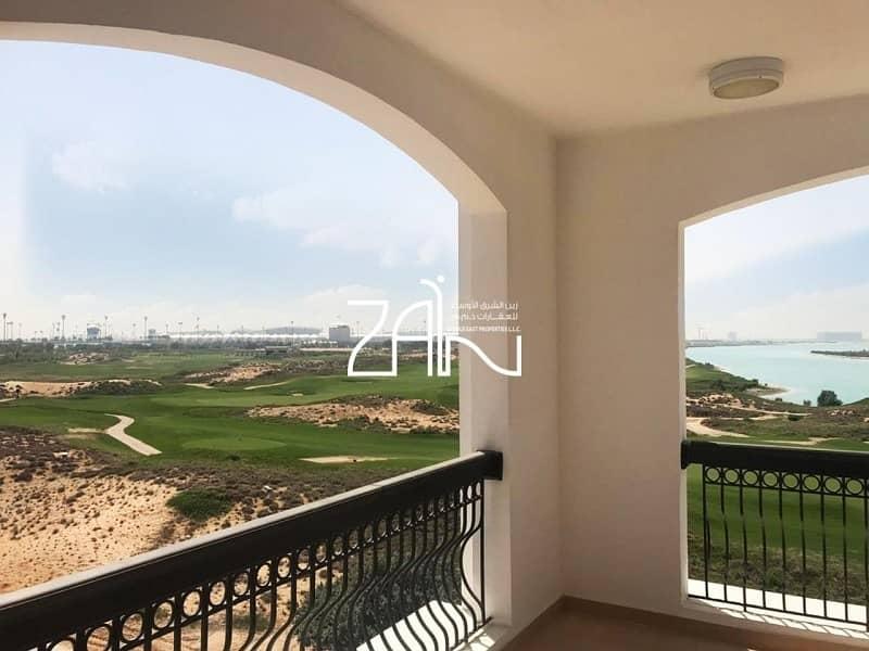 2 Golf & Sea View 2+M Apt Below Original Price