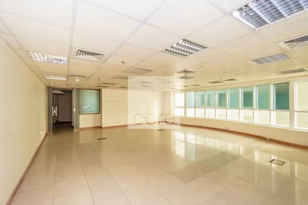 مکتب  للايجار في شارع الشيخ زايد، دبي - Prime Location | Vacant | Fitted Office