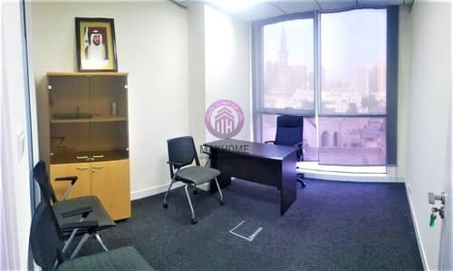 مکتب  للايجار في الدانة، أبوظبي - Hassle-free || Fully Furnished Space for Rent