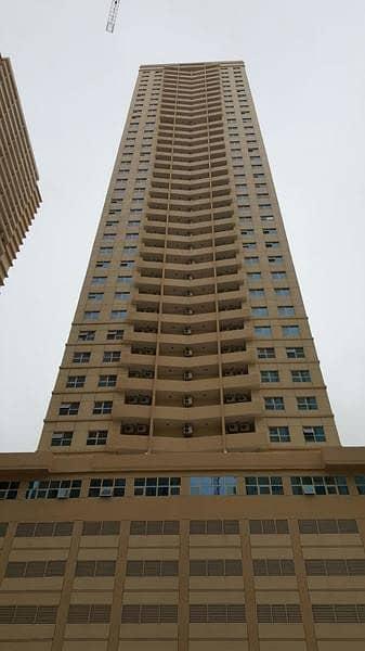 شقة 1 غرفة نوم للايجار في مدينة الإمارات، عجمان - شقة في برج الزنبق مدينة الإمارات 1 غرف 17000 درهم - 4338244