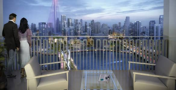 شقة 1 غرفة نوم للبيع في رأس الخور، دبي - Apartments overlooking  Al Khor with a 5% reservation and installments of 5 years