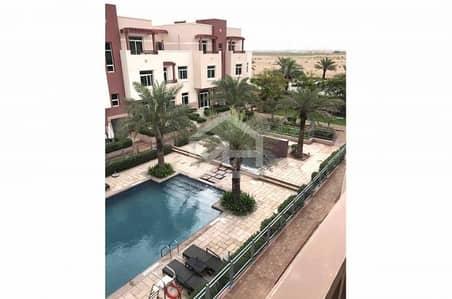 Studio for Sale in Al Ghadeer, Abu Dhabi - Corner Studio Terraced with Pool View + Rent Refund