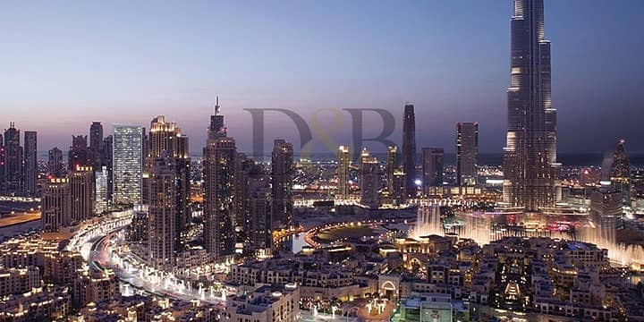 2 Amazing Burj Khalifa View | Ready To Move In!