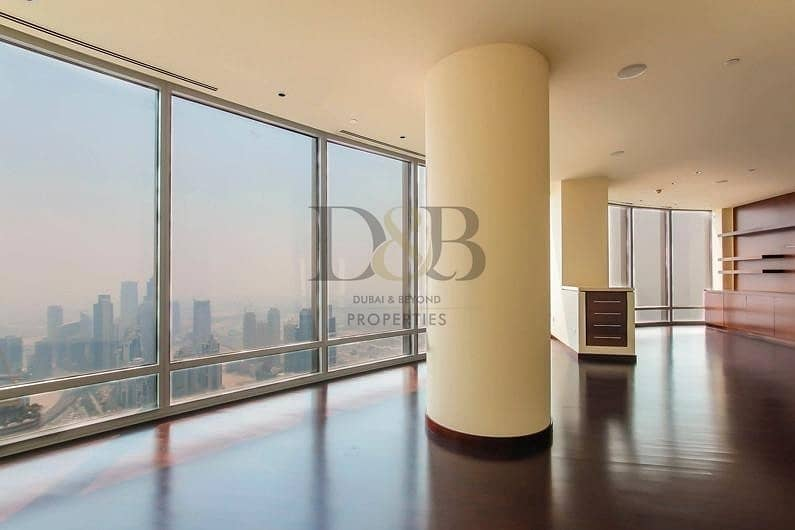 3BR with Sophisticated Burj Khalifa View