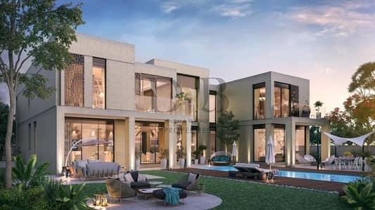 6 Bedroom Villa for Sale in Dubai Hills Estate, Dubai - FULL GOLF VIEW 2 KITCHENS PRIVATE GARDEN AND POOL