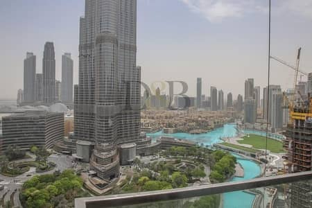 1 Bedroom Apartment for Rent in Downtown Dubai, Dubai - Ready To Move In | 1 BR With Big Balcony+Burj View