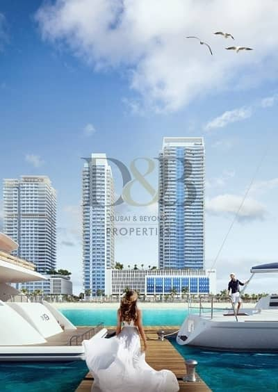 3 Bedroom Flat for Sale in Dubai Harbour, Dubai - 60% POST PAYMENT PLAN |BEACHFRONT HOLIDAY HOMES