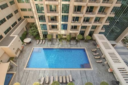 Vacant 1 BR | Balcony With Pool View | 4 Cheques