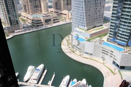 فلیٹ 1 غرفة نوم للايجار في دبي مارينا، دبي - MARINA VIEWS | CHILLER FREE | HIGH FLOOR