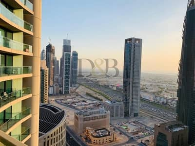 3 Bedroom Apartment for Rent in Downtown Dubai, Dubai - Sea Facing | 3BR Corner Unit | 4 Cheques
