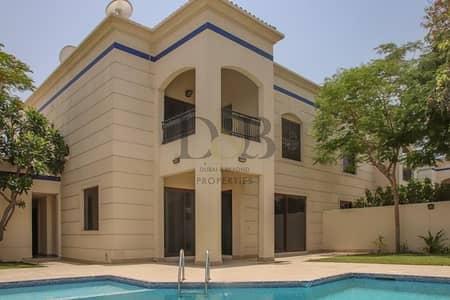 فیلا 4 غرف نوم للايجار في الصفا، دبي - Private Pool & Garden | 4 Bedrooms Villa