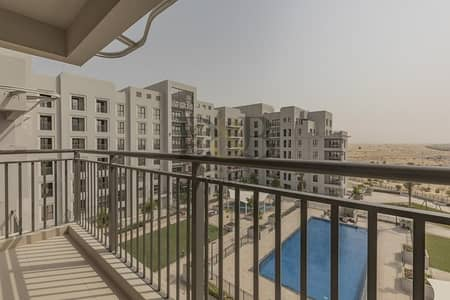 3 Bedroom Apartment for Rent in Town Square, Dubai - 6 CHQ | Direct Pool Facing Brand New 3BR