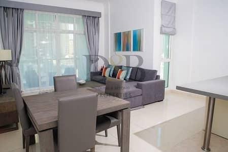 1 Bedroom Flat for Rent in Dubai Marina, Dubai - Fully Furnished 1BR Apt Full Marina View