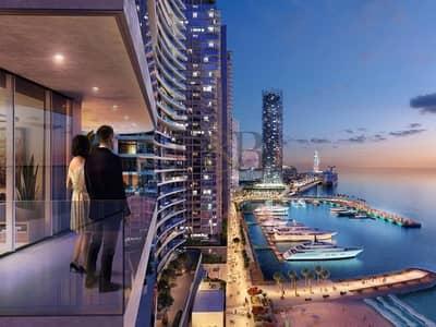 شقة 2 غرفة نوم للبيع في دبي هاربور، دبي - CALL US TO BOOK YOUR 2BR | BEACHVISTA T2