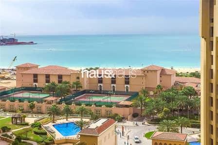 شقة 1 غرفة نوم للبيع في جي بي ار، دبي - Huge one bed | Marina and Sea view | Murjan 1