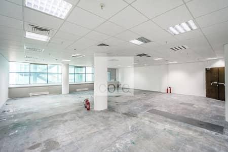 مکتب  للايجار في شارع الشيخ زايد، دبي - High Floor | Fitted Office | Close to Metro