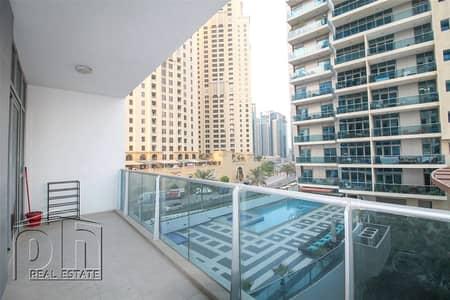 شقة 1 غرفة نوم للايجار في دبي مارينا، دبي - Spacious 1 Bedroom - Unfurnished - Vacant