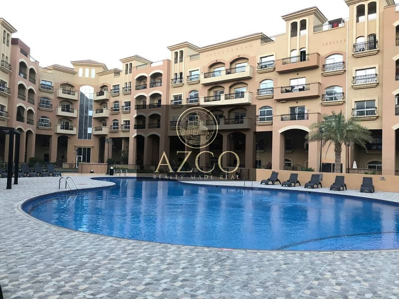 Beautiful 1BR Pool View Only for 45k in JVC
