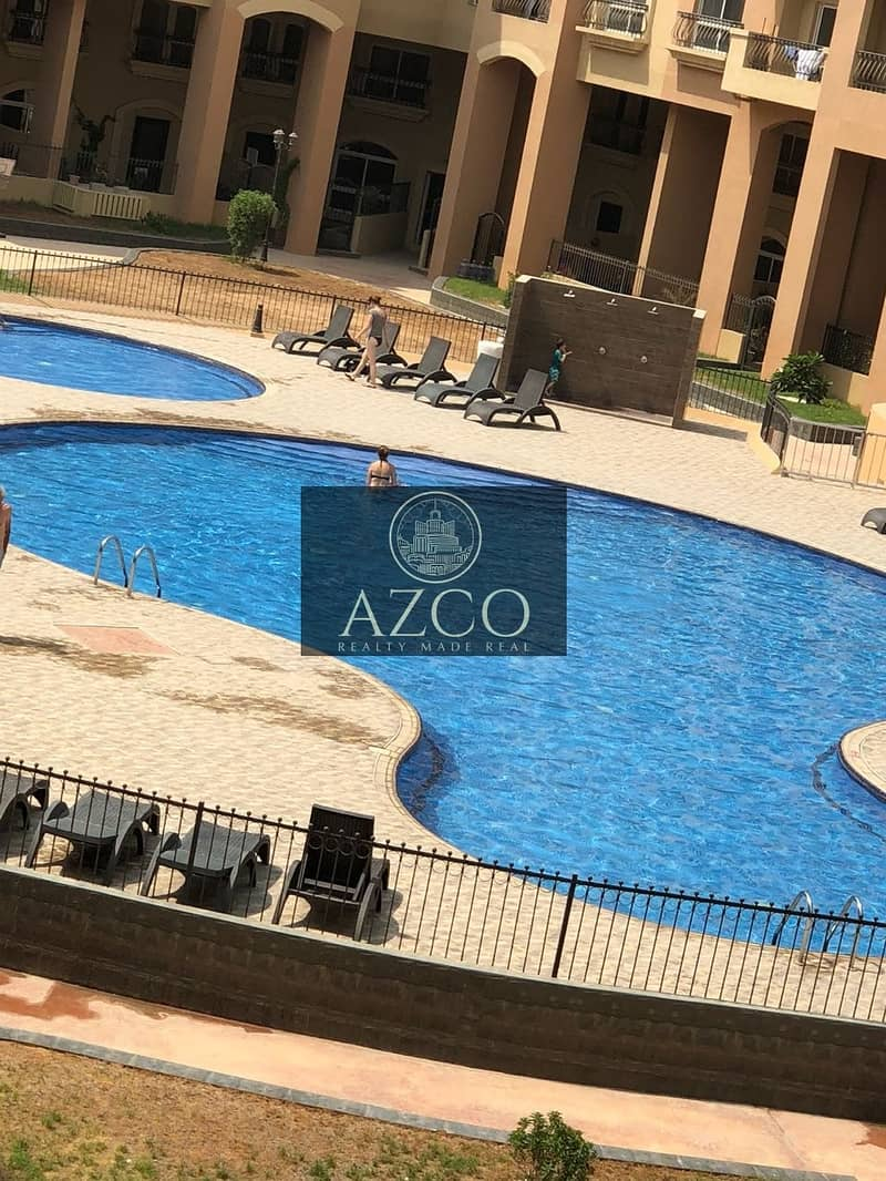 10 Beautiful 1BR Pool View Only for 45k in JVC