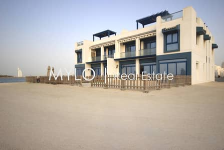 5 Bedroom Townhouse for Rent in Palm Jumeirah, Dubai - Rare End Unit | 5 Bedroom Townhouse