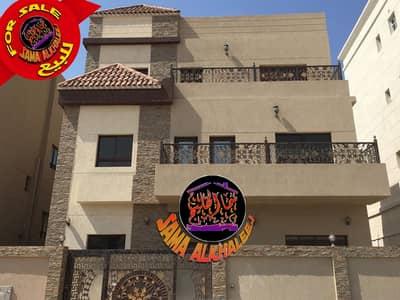 5 Bedroom Villa for Sale in Al Mowaihat, Ajman - Luxury villa-three floors 6 master rooms for sale-Al Mowaihat-Ajman