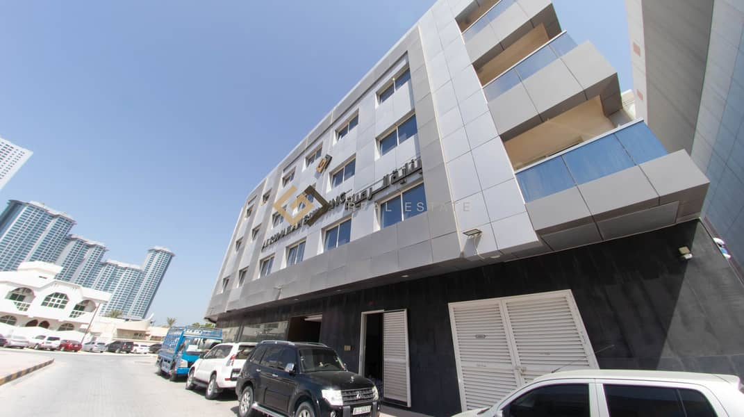 2 1 Bedroom Apartment Available in Al Rumailah Building