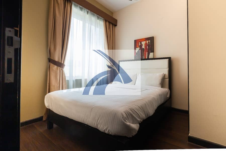 DIRECT FR OWNER | Stunning 1BR  Apt | Fully Furnished & Serviced | AED 5250 Monthly | 12 Cheques | NO AGENCY COMMISSION