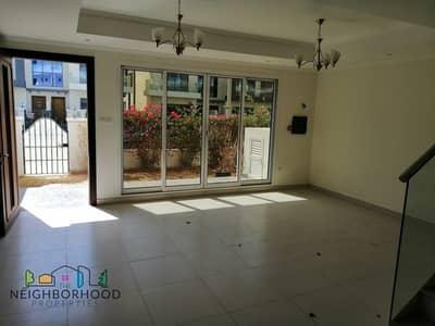 فیلا 4 غرفة نوم للايجار في قرية جميرا الدائرية، دبي - Well Maintained|4 bed plus Maid|With Elevator|Small Garden