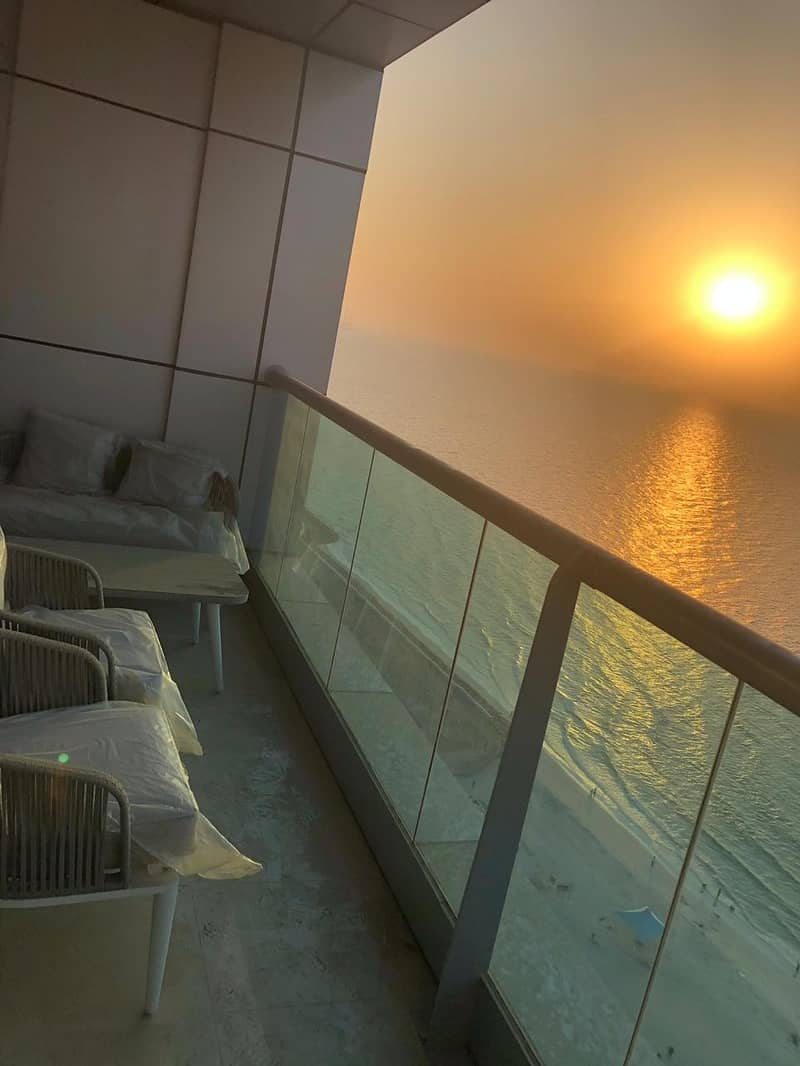 Beautiful Place ,2Bhk Available For Sale In Corniche Tower Ajman Full sea View With Parking /-