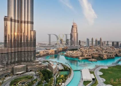 4 Bedroom Apartment for Sale in Downtown Dubai, Dubai - FULL VIEW | RARE 4BR UNIT | SKY COLLECTION