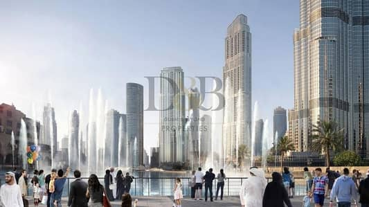 2 Bedroom Flat for Sale in Downtown Dubai, Dubai - LAST 2 BED HIGH FLR BURJ + FOUNTAIN VIEW