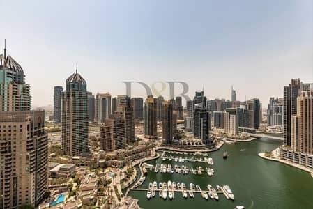 فلیٹ 1 غرفة نوم للبيع في دبي مارينا، دبي - FULL MARINA VIEW | 25% BELOW OP  | 1 BEDROOM APT
