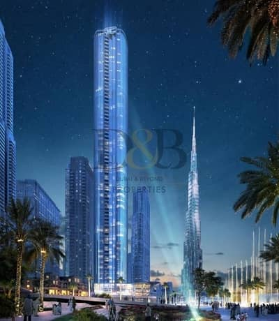 4 Bedroom Apartment for Sale in Downtown Dubai, Dubai - HIGH FLOOR |UNBELIEVABLE PRICE | BURJ AND SEA VIEW