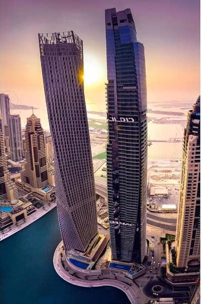 1 Bedroom Apartment for Sale in Dubai Marina, Dubai - luxury brand new damac heights fendi design 1br,2br,3br,4br full ocean atlantis and marona view  damac heights damac properties