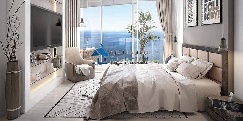 Stunning View of Burj Al Arab | 1 BR | Azizi Mina