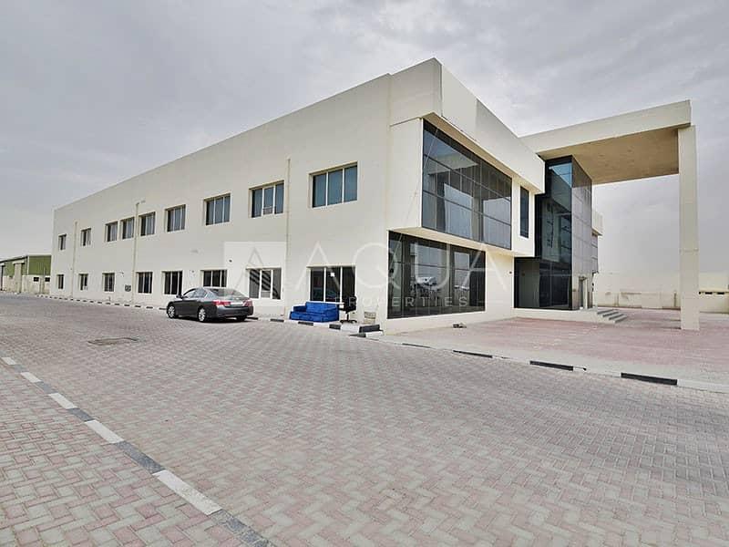Showroom Plus warehouse with Maznain