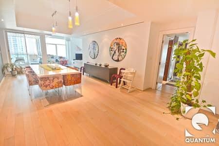 فلیٹ 3 غرفة نوم للايجار في دبي مارينا، دبي - Upgraded |  Vacant November |  Mid Floor