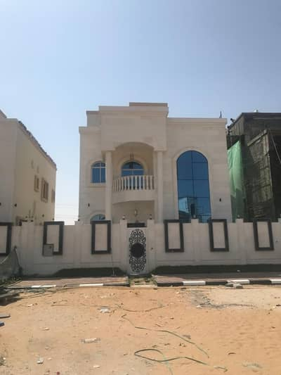 5 Bedroom Villa for Sale in Al Yasmeen, Ajman - For sale new Villa stone interface and excellent finishes