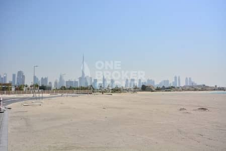 Plot for Sale in Jumeirah, Dubai - Mansion Plot | Private Beach | Freehold  | Payment Plan