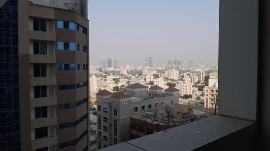 1 Bedroom Apartment for Rent in Al Sawan, Ajman - 1 bhk city view with parking in Ajman one tower