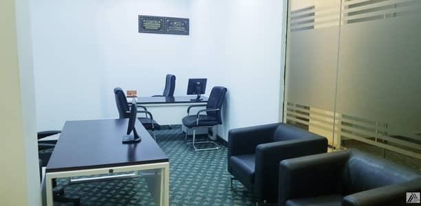 مکتب  للايجار في شارع الشيخ زايد، دبي - BRAND NEW CUSTOMIZED LUXURIOUS PRIVATE OFFICES AT  SHEIKH ZAYED ROAD PRESTEGIOUSE LOCATION 1 MNT WALK AWAY FROM METRO.