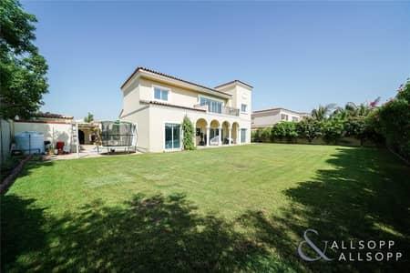 5 Bedroom Villa for Sale in Green Community, Dubai - Cul de sac | 5 Bedrooms | Recycled Water