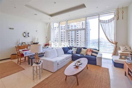 شقة 2 غرفة نوم للايجار في نخلة جميرا، دبي - Furnished | Upgraded kitchen | Available now